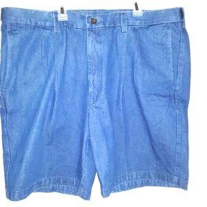 NWT Haggar denim cotton comfort shorts